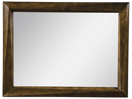 ART Furniture Echo Park Huston Arroyo stippled stain 50''W x 40''H Rectangular Wall Mirror