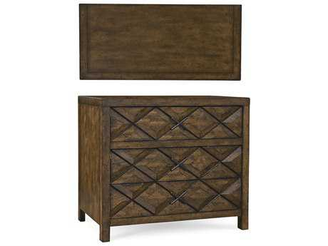 ART Furniture Echo Park Huston Arroyo Stippled Stain 38''W x 20''D Rectangular Nightstand