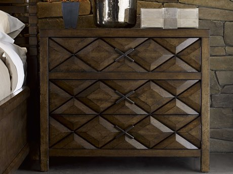 A.R.T. Furniture Echo Park Huston Arroyo Stippled Stain 38''W x 20''D Rectangular Nightstand