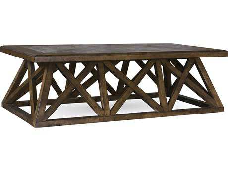 ART Furniture Echo Park Huston Arroyo Stippled Stain 60''L x 30''W Rectangular Cocktail Table