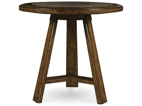 A.R.T. Furniture Echo Park Huston Arroyo Stippled Stain 30'' Wide Round End Table