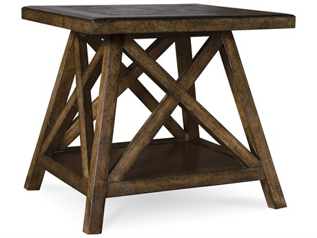 A.R.T. Furniture Echo Park Huston Arroyo Stippled Stain 28''L x 25''W Rectangular End Table