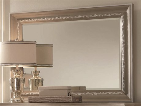 ART Furniture Chateaux Grey 50''W x 40''H Rectangular Wall Mirror
