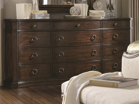 ART Furniture Chateaux Walnut Triple Dresser