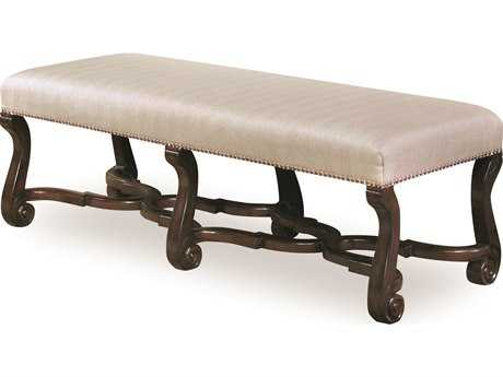 ART Furniture Chateaux Walnut Accent Bench
