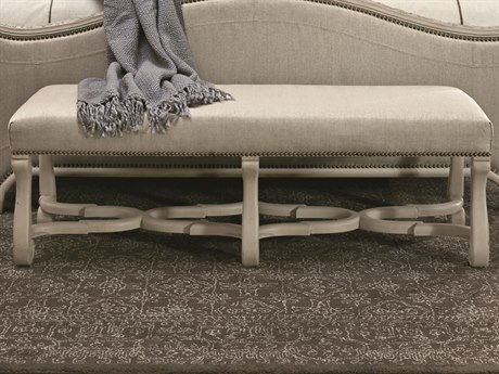 ART Furniture Chateaux Grey Accent Bench