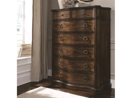 ART Furniture Chateaux Walnut 44.5''W x 20''D Chest of Drawers