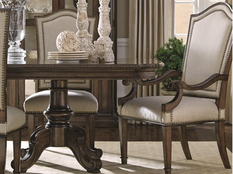 A.R.T. Furniture Chateaux Walnut Dining Arm Chair (Sold in 2)