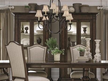 ART Furniture Chateaux Walnut China Cabinet