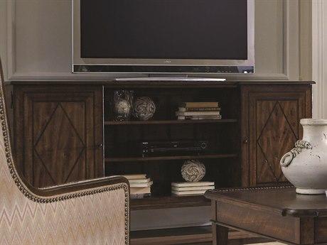 ART Furniture Chateaux Walnut 76''L x 16''W Entertainment Console