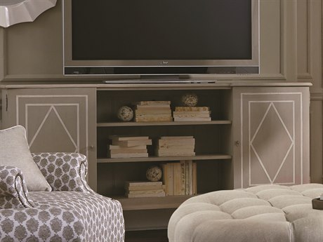 A.R.T. Furniture Chateaux Grey 76''L x 16''W Entertainment Console