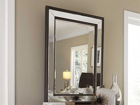 A.R.T. Furniture Greenpoint Coffee Bean 48''W x 34.5''H Rectangular Wall Mirror