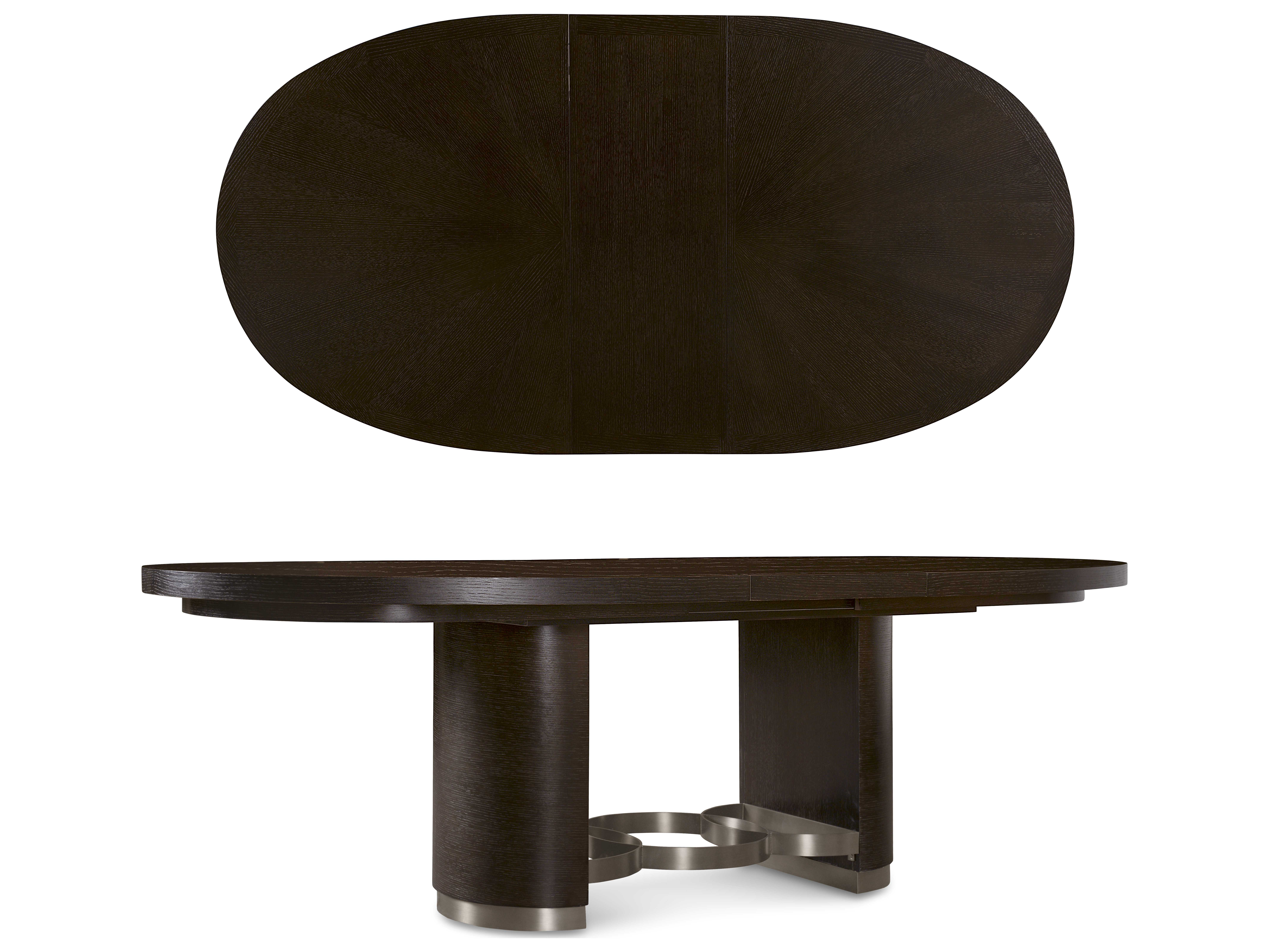 A r t furniture greenpoint oval dining table in coffee bean - A R T Furniture Greenpoint Coffee Bean 84 L X 51 5 W Oval Dining Hover To Zoom