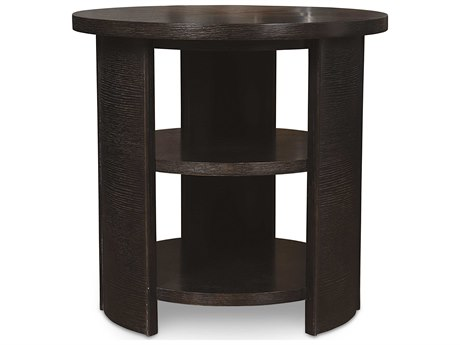 ART Furniture Greenpoint Coffee Bean 26'' Wide Round End Table