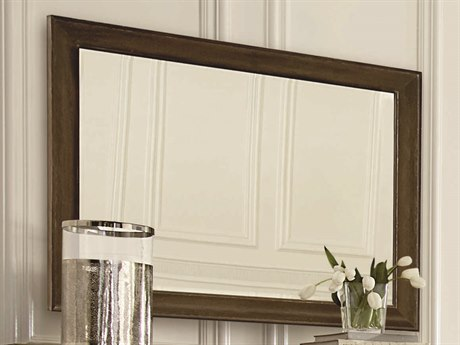 A.R.T. Furniture Saint Germain Coffee 48''W x 37''H Rectangular Wall Mirror AT2151201513