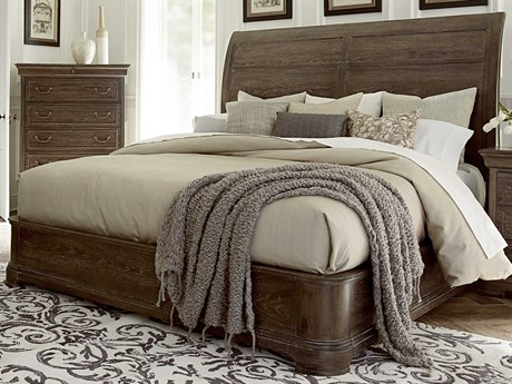 A.R.T. Furniture Saint Germain Coffee Eastern King Size Platform Sleigh Bed AT2151461513