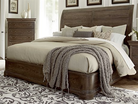 A.R.T. Furniture Saint Germain Coffee California King Size Platform Sleigh Bed AT2151471513