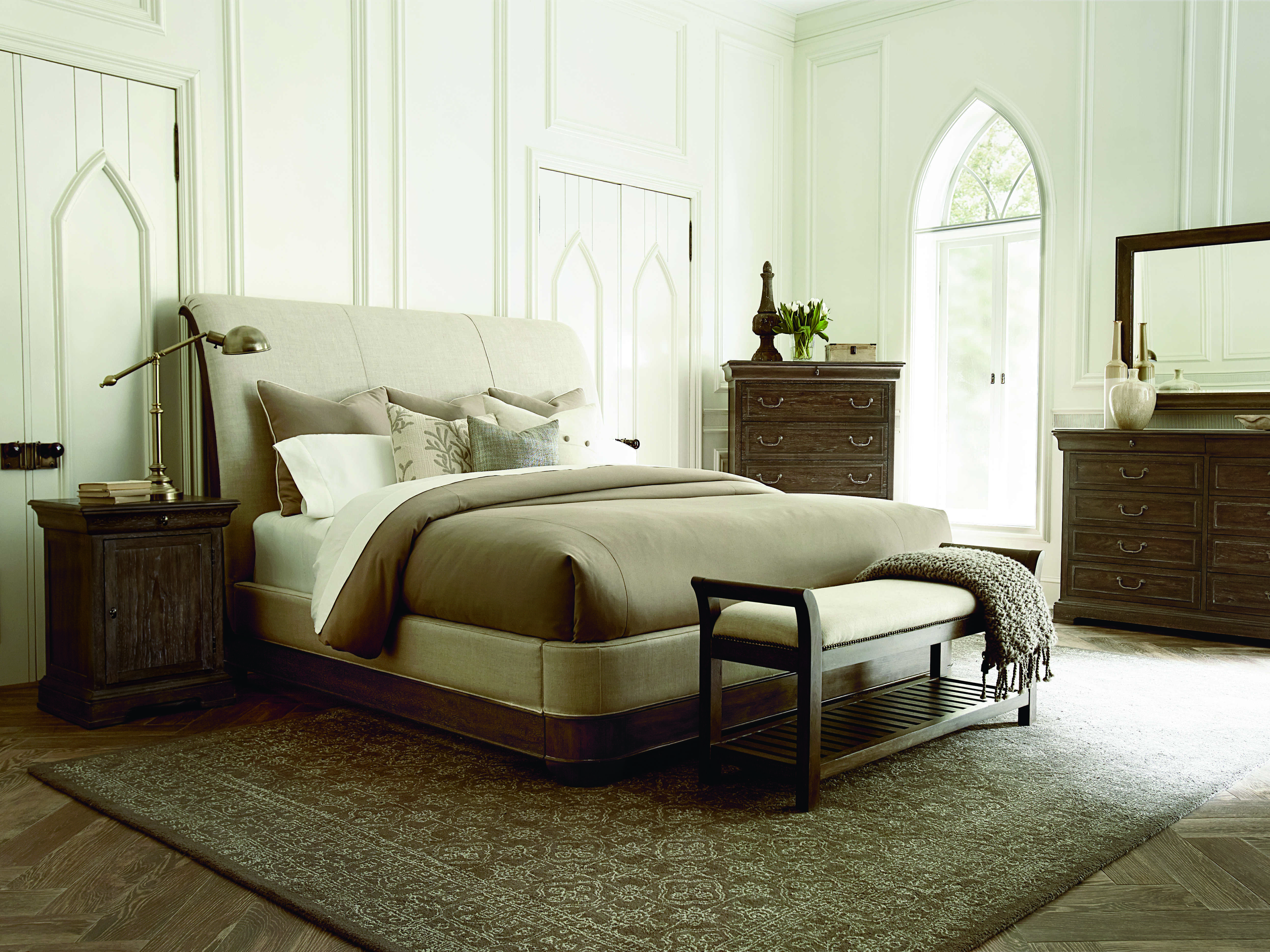 Art furniture saint germain coffee accent bench at2151491513 for Albany st germain sectional sofa chaise