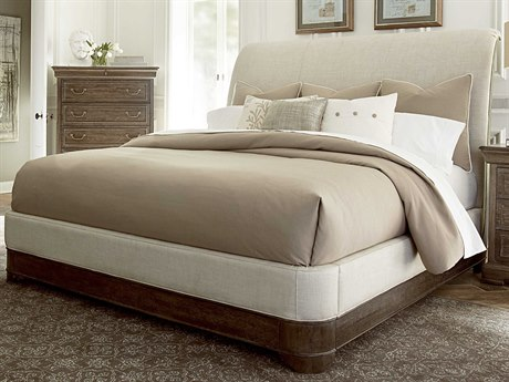 A.R.T. Furniture Saint Germain Coffee Queen Size Platform Sleigh Bed AT2151551513