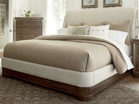 A.R.T. Furniture Saint Germain Coffee Eastern King Size Platform Sleigh Bed AT2151561513