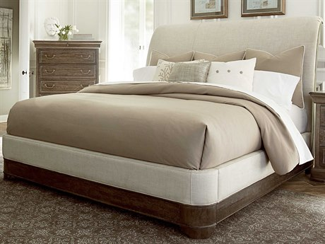 A.R.T. Furniture Saint Germain Coffee California King Size Platform Sleigh Bed AT2151571513