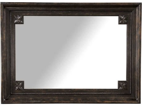 A.R.T. Furniture Collection One Harden Tortoise 50''W x 36''H Rectangular Wall Mirror
