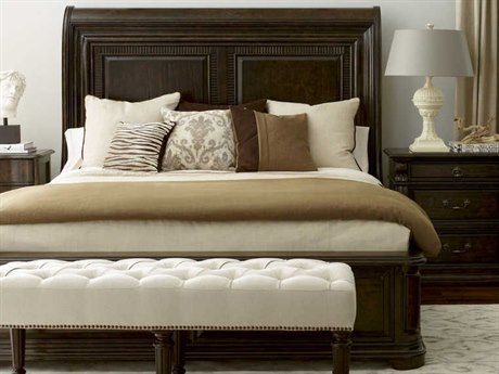 A.R.T. Furniture Collection One Tortoise Queen Size Sleigh Bed