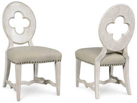 A.R.T. Furniture Collection One Drake Vintage Linen Dining Side Chair (Sold as Set of 2)