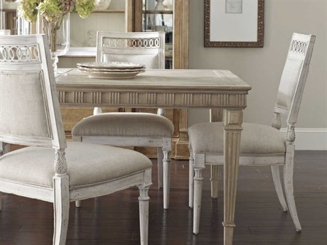 A.R.T. Furniture Collection One Jefferson Vintage Linen Dining Side Chair (Sold in 2)