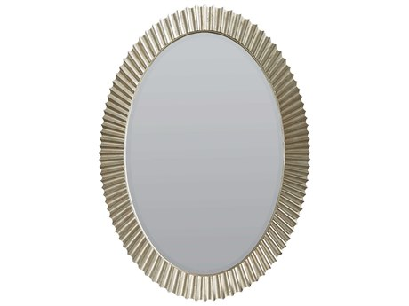A.R.T. Furniture Morrissey Perrett Bezel 34''W x 48''H Oval Wall Mirror