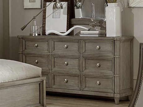 A.R.T. Furniture Morrissey Eccles Smoke Nine-Drawers Triple Dresser