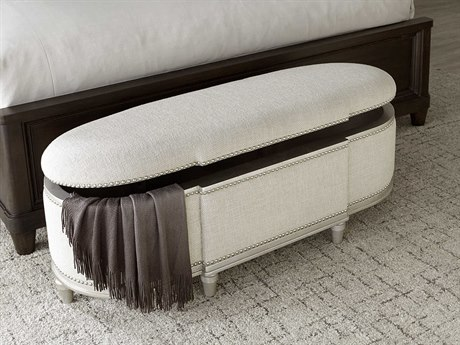 A.R.T. Furniture Morrissey Rhodes Bezel Storage Accent Bench