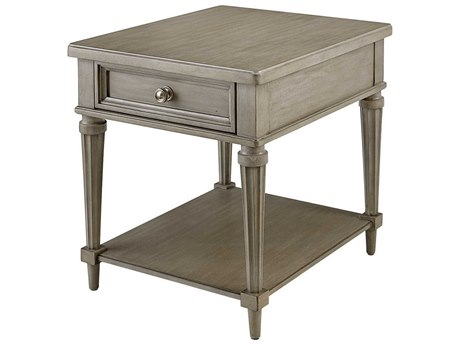 A.R.T. Furniture Morrissey Kirke Smoke 23''L x 27''W Rectangular End Table
