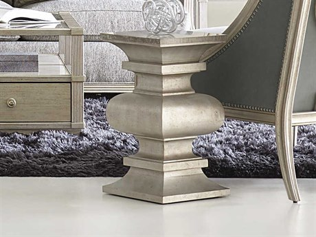 A.R.T. Furniture Morrissey Lyndon Martini Bezel 13'' Wide Square Pedestal Table