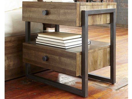 A.R.T. Furniture Epicenters Reclaimed Pallet 20''W x 24''D Rectangular Nightstand