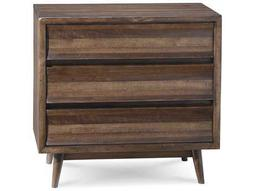ART Furniture Epicenters Walnut stripe 35.5''W x 23.5''D Rectangular Nightstand