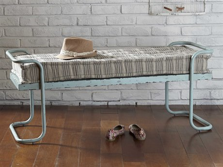 A.R.T. Furniture Epicenters Factory Blue Accent Bench