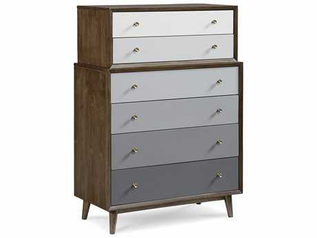 ART Furniture Epicenters Mid-Century Walnut 42''W x 23''D Chest of Drawers