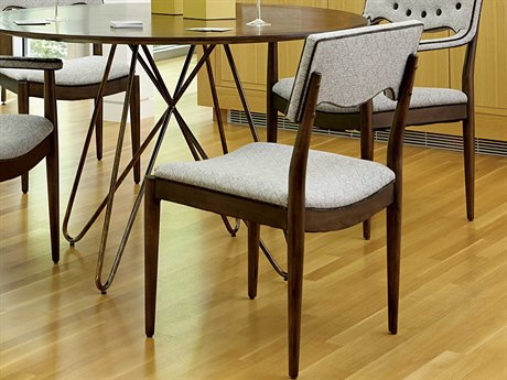 A.R.T. Furniture Epicenters Mid-Century Walnut Dining Side Chair (Sold as Set of 2)