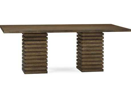 ART Furniture Epicenters Reclaimed Pallet 88''L x 46.5''W Rectangular Double Pedestal Dining Table
