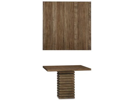 A.R.T. Furniture Epicenters Reclaimed Pallet 47'' Wide Square Pedestal Dining Table AT2232222302