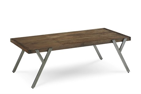 A.R.T. Furniture Epicenters Reclaimed Pallet 50''L x 26.5''W Rectangular Cocktail Table
