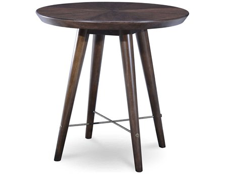 A.R.T. Furniture Epicenters Mid-Century Walnut 26'' Wide Round End Table