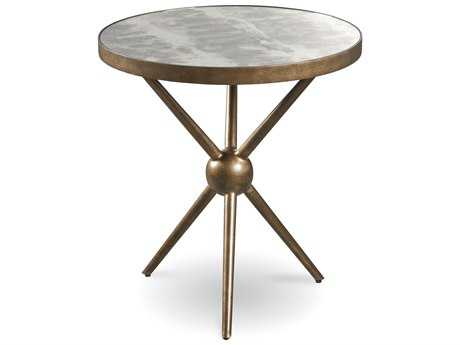 ART Furniture Epicenters Sunset Brass 24'' Wide Round End Table