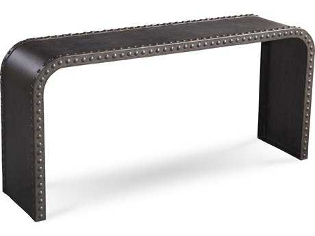 ART Furniture Epicenters Black Metal 64''L x 16''W Rectangular Console Table