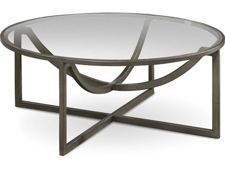 A.R.T. Furniture Epicenters Pot Metal 40'' Wide Cocktail Table