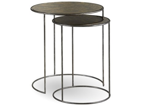 A.R.T. Furniture Epicenters Pot Metal 24'' Wide Williamsburg Nesting Tables