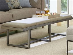 Epicenters Silver Accent Bench