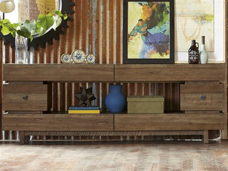 A.R.T. Furniture Epicenters Reclaimed Pallet 80''L x 16''W Entertainment Console AT2234232302