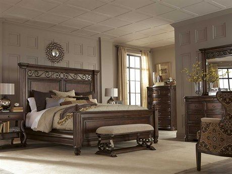 A.R.T. Furniture La Viera Panel Bedroom Set